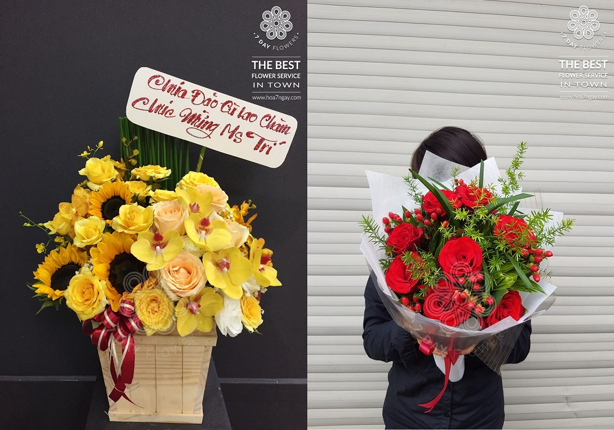 Hoa sinh nhật sao cho thật sâu sắc  - Hoa Cưới Kim Anh